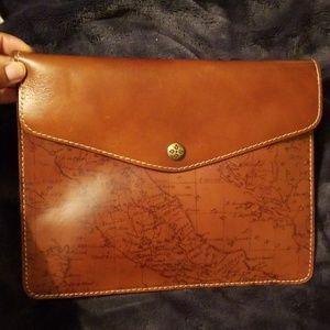 Patricia Nash Leather Envelope Clutch